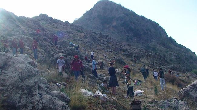 pic3- زرع 3500 ارزة بالتعاون مع جمعية جزور لبنان 07.11.2009